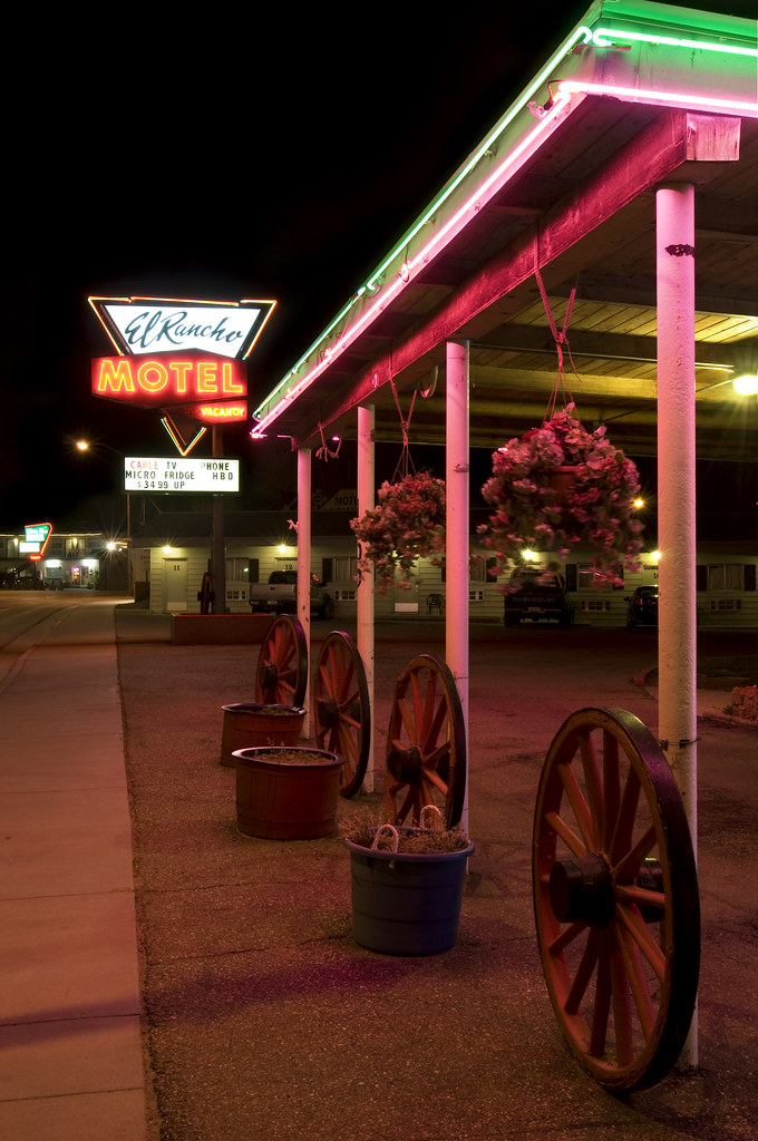 El Rancho Motel - 1400 Aultman Street, Ely, Nevada U.S.A. - May 27, 2010