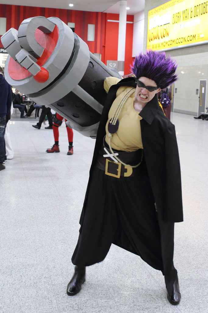 Zephyr from One Piece Z   NekoJoe   Flickr