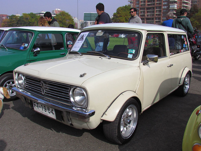austin mini clubman 1300 1974 patrimonio sobre ruedas. Black Bedroom Furniture Sets. Home Design Ideas