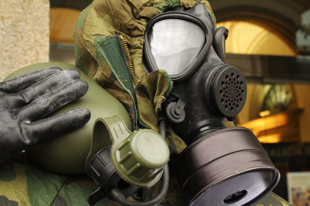 Máscara de protección NBQ M6-87 del Ejército de Tierra de ...