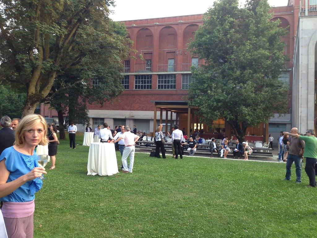 Hometab3home la serata della presentaione di samsung tab3 for Giardino triennale