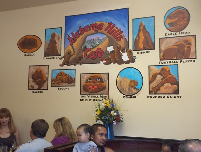 Alabama Hills Cafe Lone Pine Ca