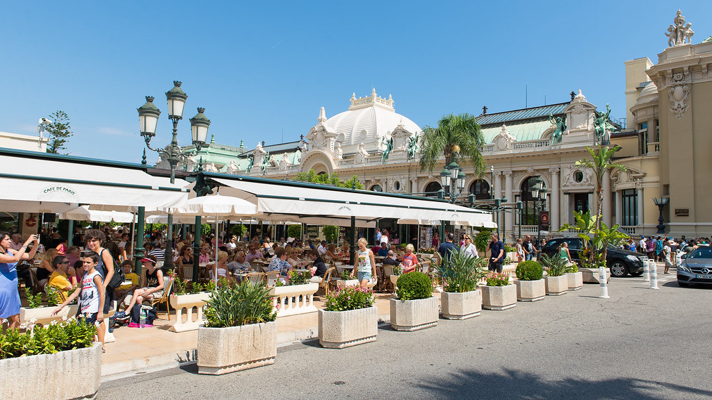 Cafe Paris Monte Carlo
