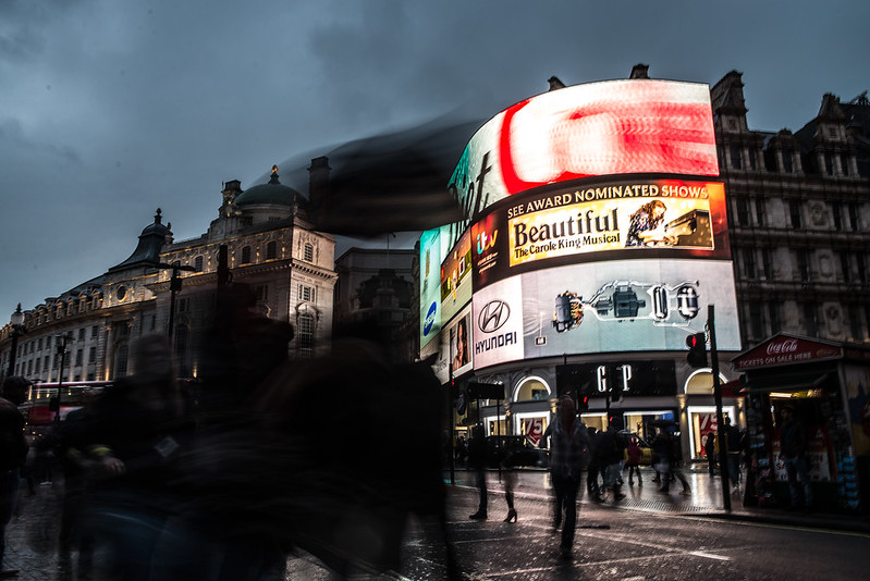 Dementors in Picadilly Circus