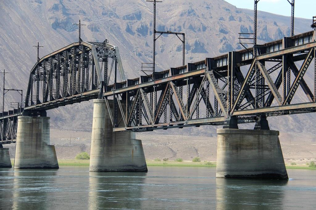 Beverly Railroad Bridge Grant County And Kittitas County