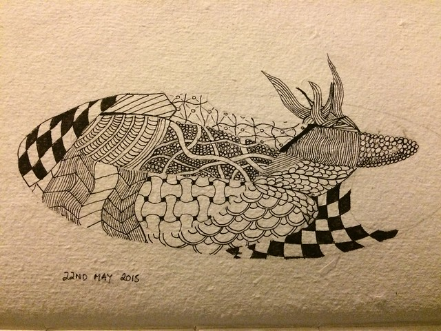 Zentangle 22 May 2015