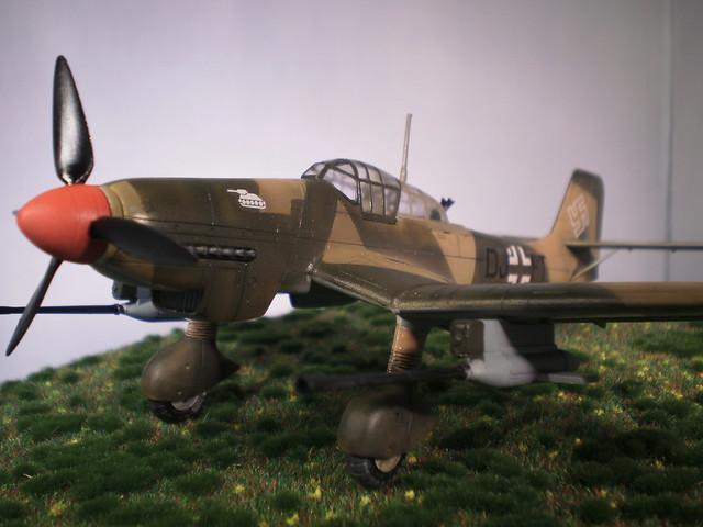 Ju-87 Stuka G-1 FUJUMI 1/72ème 17478040052_42e392d9b0_z