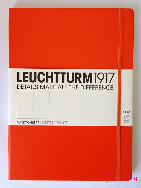 Review Leuchtturm1917 Master Slim Notebook @CouronneDuComte @Leuchtturm1917 (1)