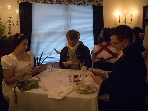 Regency Card Party