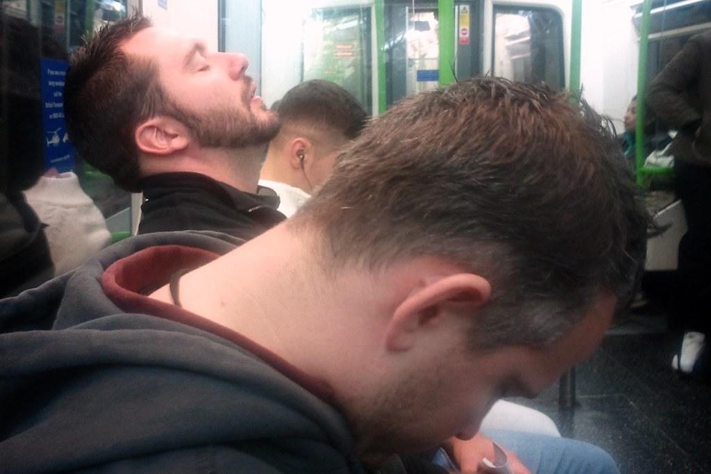 Conrad & Jeff on the Tube