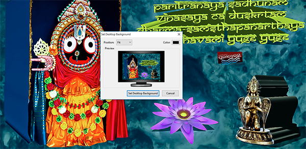 Shri Jagannath Wallpaper – 3D HD Wallpaper
