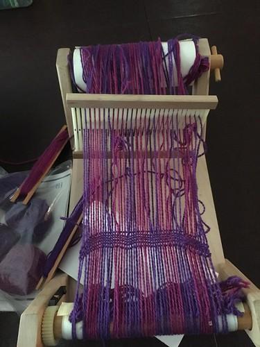 Harrisville Easy Weaver Loom, slightly used