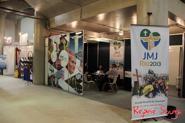 Stand JMJ Rio2013 na Assembleia Geral dos Bispos