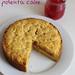 rhubarb cinnamon polenta cake