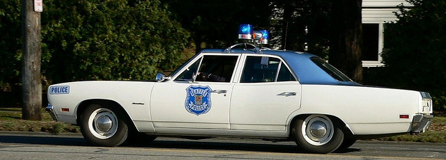 Vintage Seattle Police Car 1970 Plymouth Satellite Flickr