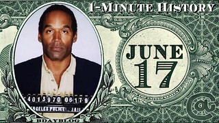 1-Minute History | 6/17 | OJ Simpson Chase | by CassAnaya