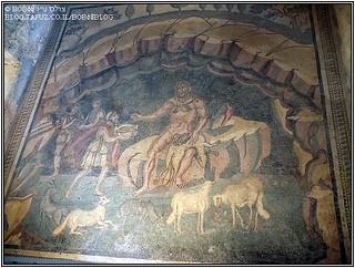 הווילה הרומאית בקזאלה אחד מה- אתרים בסיציליה
