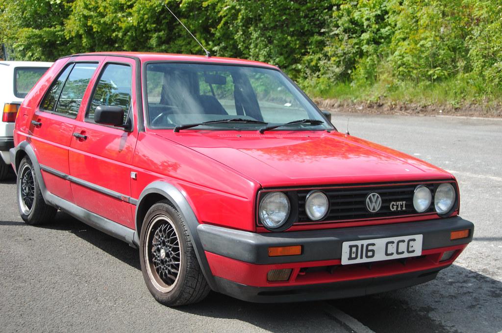 Volkswagen Golf Mk2 Durham Mini Club Show At North East