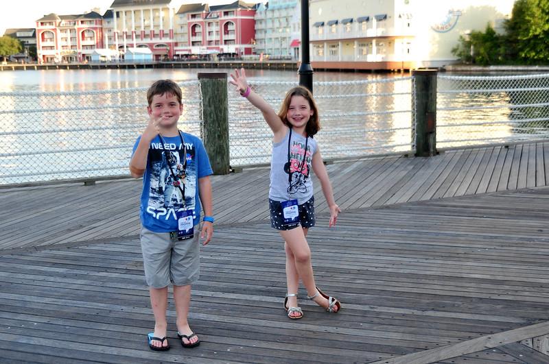 Kids love Disney's Yacht Club