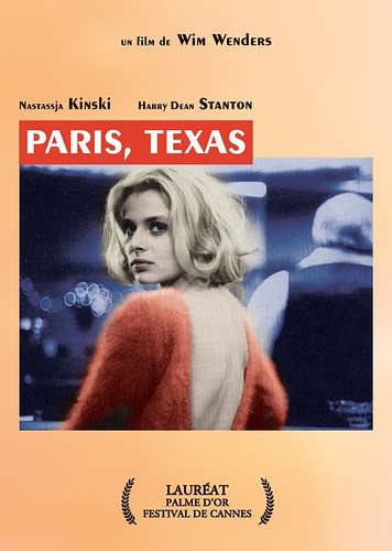 德州巴黎 Paris, Texas (1984)海报