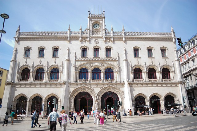 Rossio railway station | The Streets of Lisbon | No Apathy Allowed