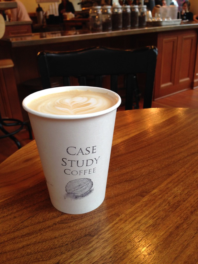 Case Study Toasted Hazelnut Latte