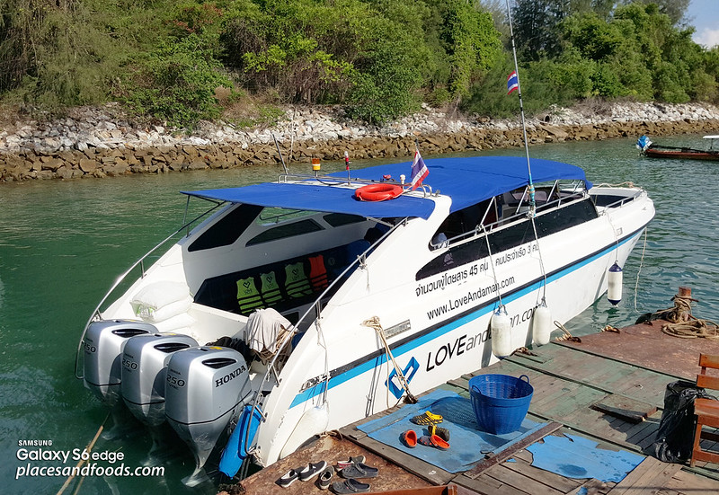maiton island love andaman speed boat
