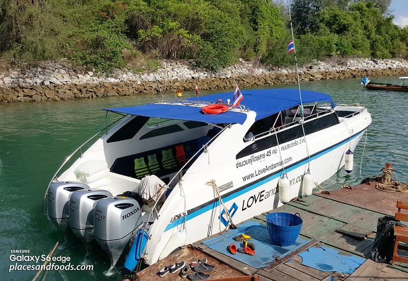 maiton island love andaman speed boat