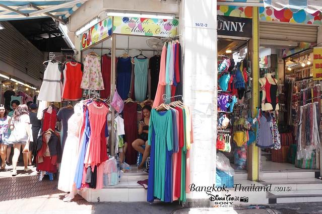 Bangkok 2015 - Pratunam Market