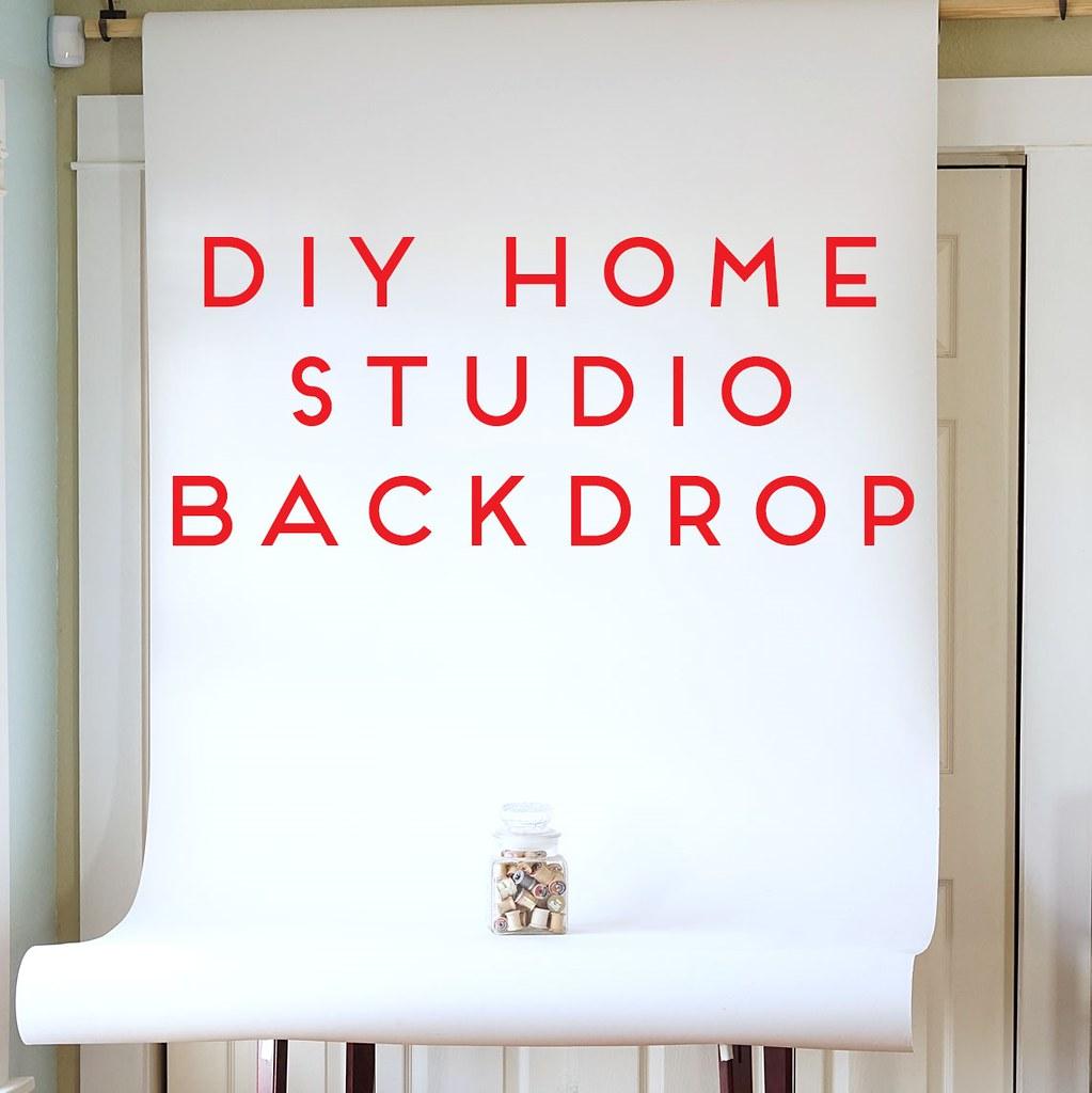 DIY Home Studio Backdrop