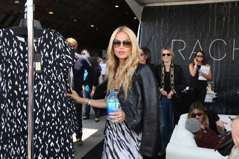 Rachel Zoe at her World of Rachel Zoe booth at Ovarian Cancer Research Fund's 2nd Annual Super Saturday LA