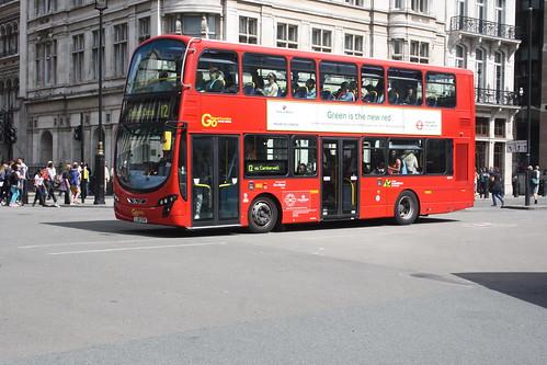 London Central WHV1 LJ61GVW