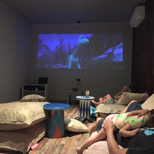 The Best Family Friendly activities on a resort movie room