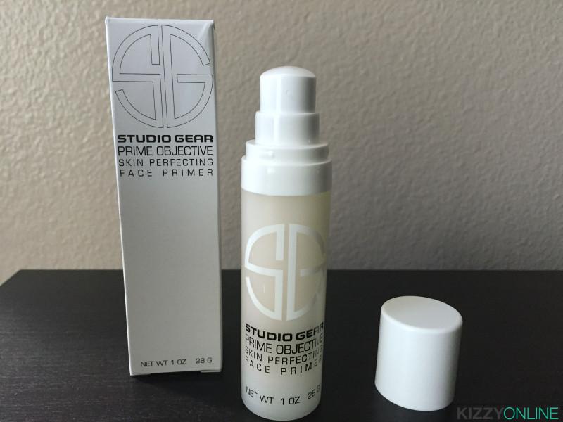 Studio Gear Cosmetics Prime Objective Perfecting Makeup Face Primer #studiogearcosmetics