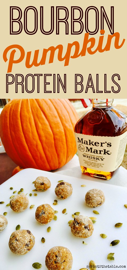 These Bourbon Pumpkin Protein Balls are a delicious snack or quick dessert! They feel like a treat, but this vegan recipe offers a healthy dose of protein and fiber that you can feel good about!