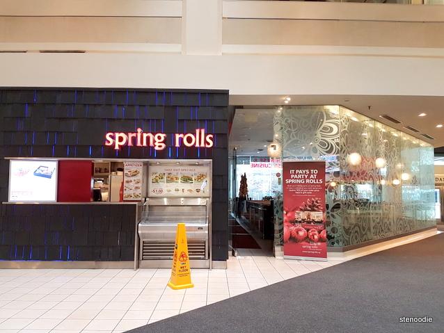 Spring Rolls at Dundas