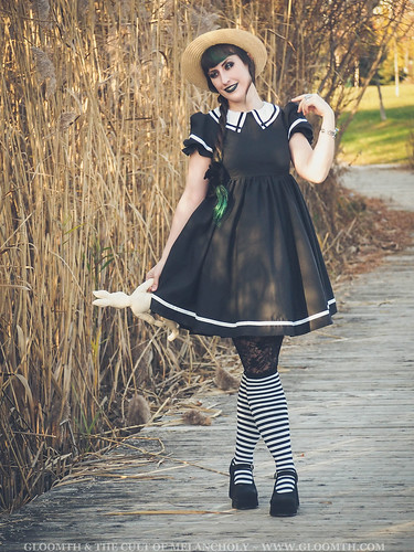 sailor lolita dress by gloomth