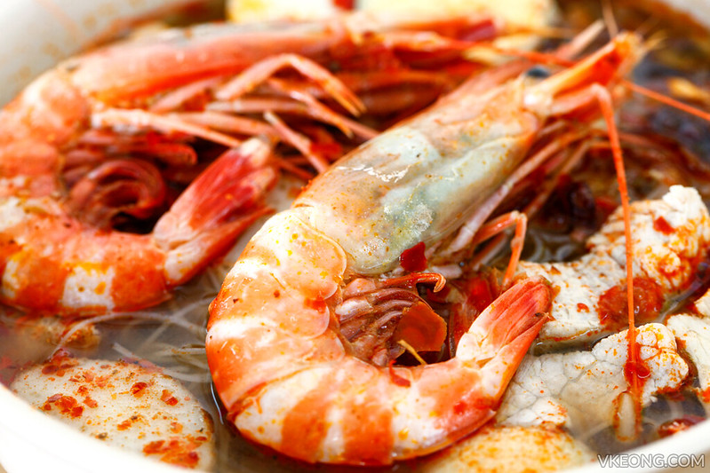 Prawn Mee big prawns