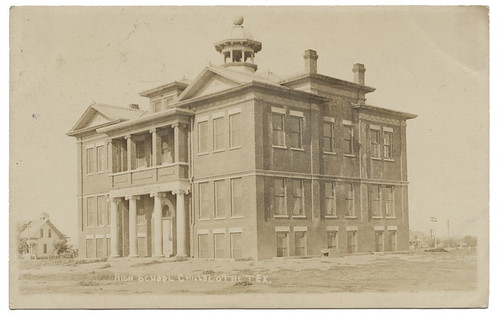 High School, Chillicothe, Tex. | by SMU Central University Libraries