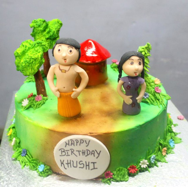 Chota Bheem Images For Birthday Cake : Chotta Bheem Theme cake Flickr - Photo Sharing!