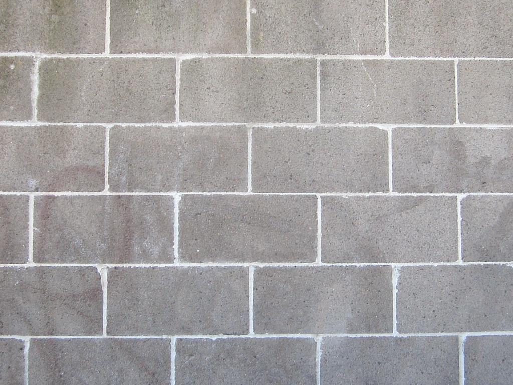 Gray brick patterns by sherrie thai of shaireproductions for Big wallpaper for wall