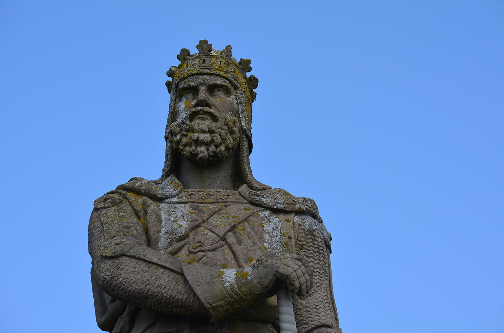 Statue Of Robert The Bruce Stirling Castle Stirling Sco
