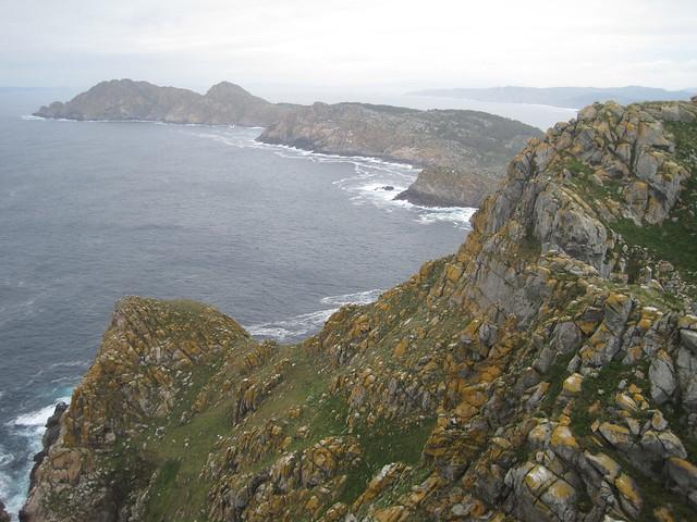 Zona norte de las Islas Cíes