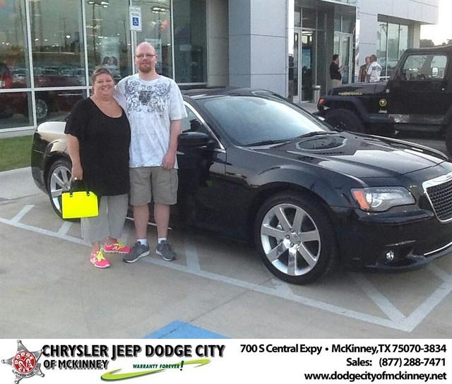 Thank You To Kurt Larsen On The 2012 Chrysler 300 From Joe