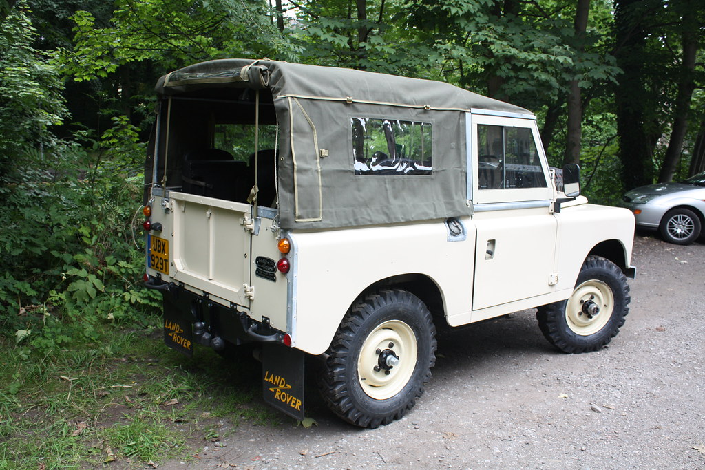 Ubx 929t 1978 Land Rover Series 3 Soft Top Quot Lucille