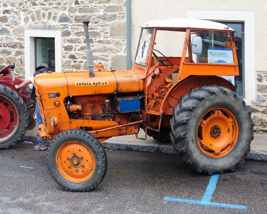 someca  tracteur som 40  france  1958
