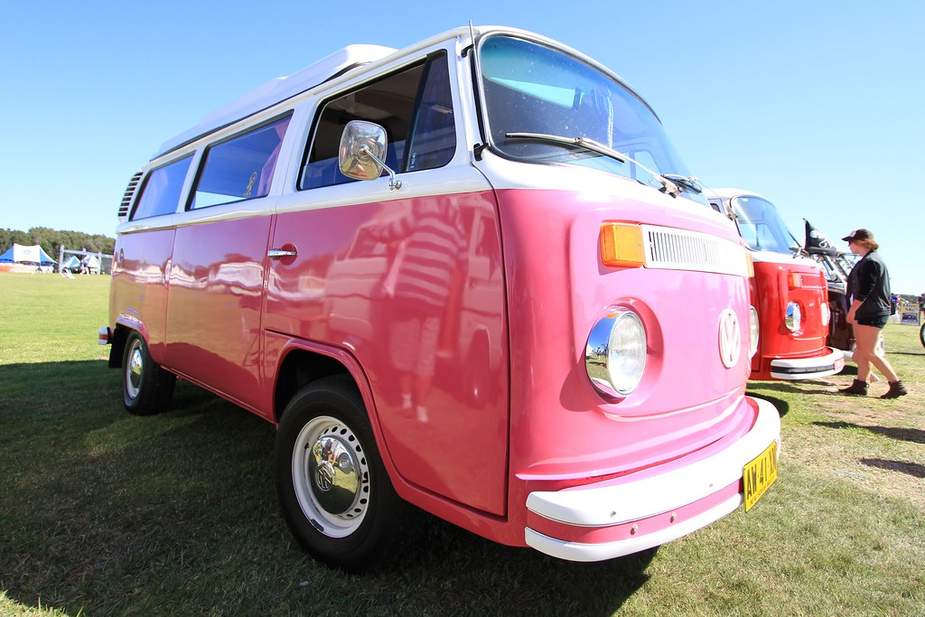 Christy's Pink (Mr Whippy/Donut King) VW Kombi Van, 2013 K… | Flickr