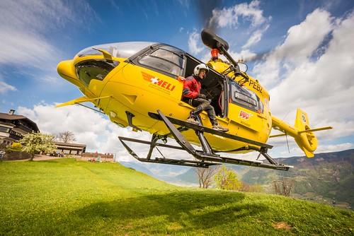 Pelikan 1 Elicottero : Bolzano elisoccorso più interventi nel