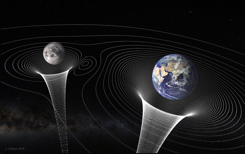 Space time curvature j gab s esteban flickr for Space time curvature