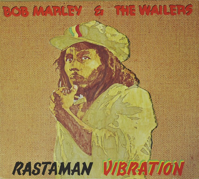 BOB MARLEY RASTAMAN VIBRATION ORIGINAL 1976 ISSUE FOC